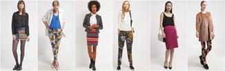 Kolorowe spodnie i spódnice