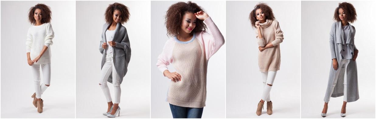 Długi sweter w cenie od 39 zł!