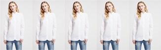 5 sposobów na białą koszulę