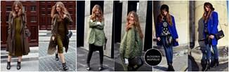 Najmodniejsze płaszcze i kurtki według blogerki