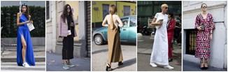 Długie sukienki - wiosenny must have