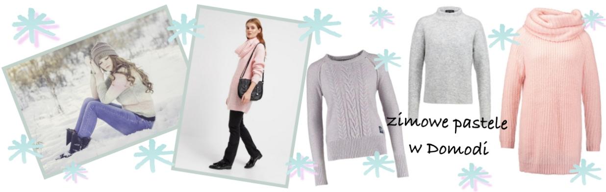 Ferie zimowe: postaw na pastelowe swetry