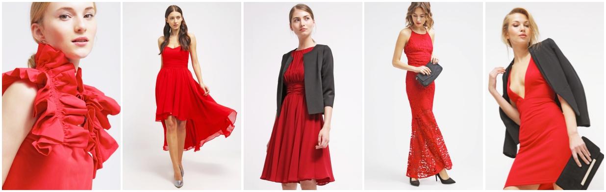 Inspiracje na Walentynki: czerwona sukienka
