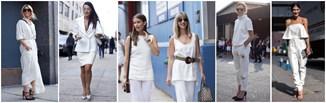 Jak nosić biel od stóp do głów?