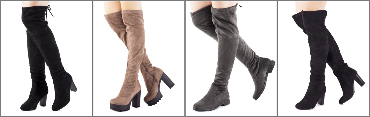 82a1b17a4e1f0 Jak nosić kozaki za kolano? - Trendy w modzie w Domodi