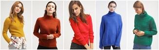 Jesienny hit - kolorowe swetry!