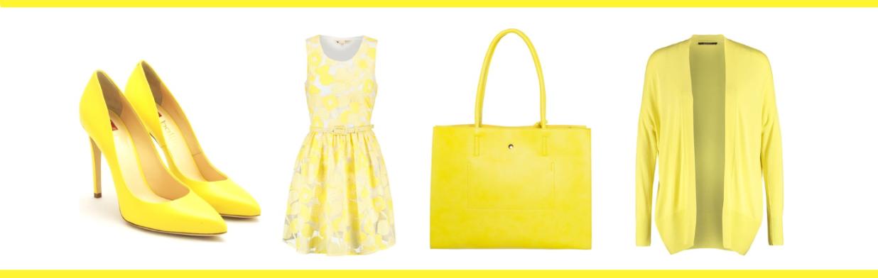 kolor żółty - jak go nosić?