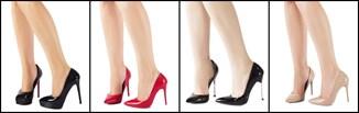 Lakierowane szpilki - jak nosić?