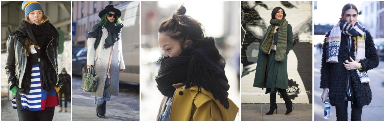 Jak nosić wielki szal? Zainspiruj się!