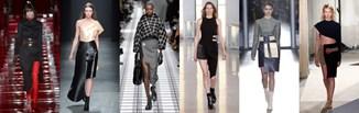Moda z wybiegu: asymetria