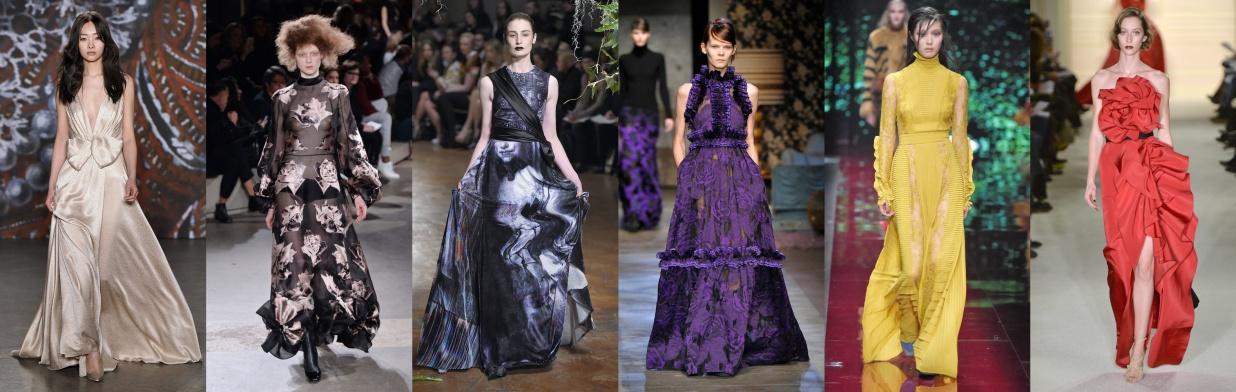 Moda z wybiegu: bajkowe kreacje