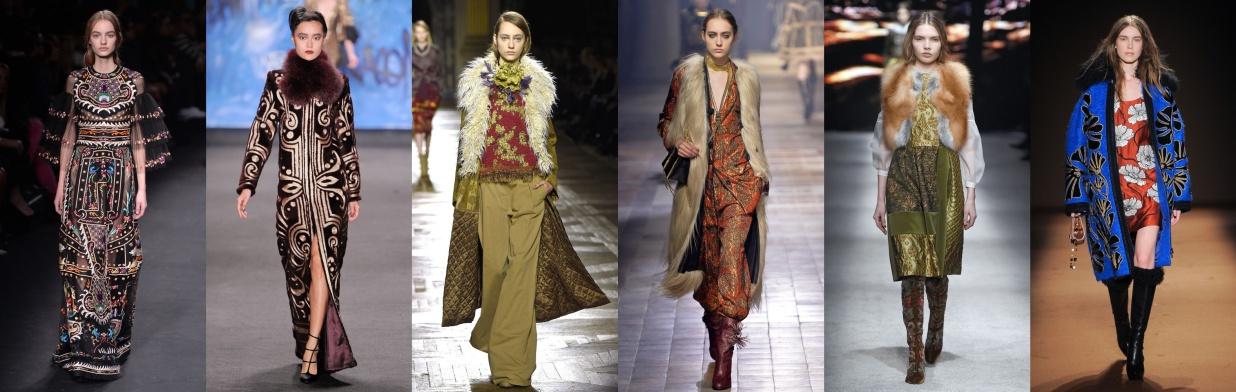 Moda z wybiegu: bohema na bogato