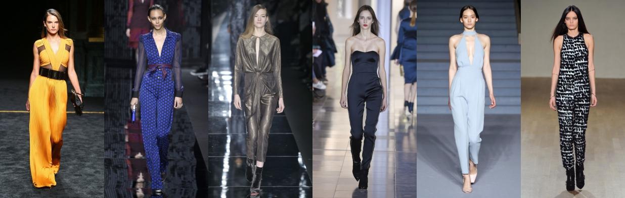 Moda z wybiegu: kombinezon na studniówkę
