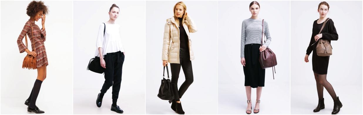 47caa92086e76 Modne i tanie torebki typu worek - Trendy w modzie w Domodi