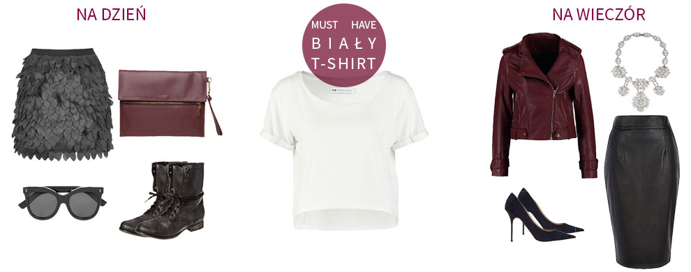 MUST HAVE - biały t-shirt
