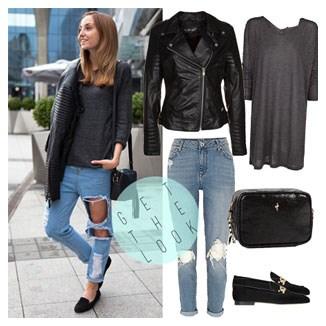 364614c6 Jeansy stylizacje, modne kolekcje 2019 w Domodi