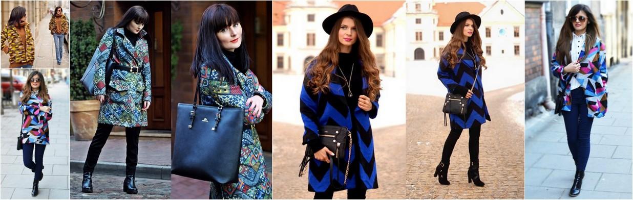 5 sposobów na kolorowe płaszcze