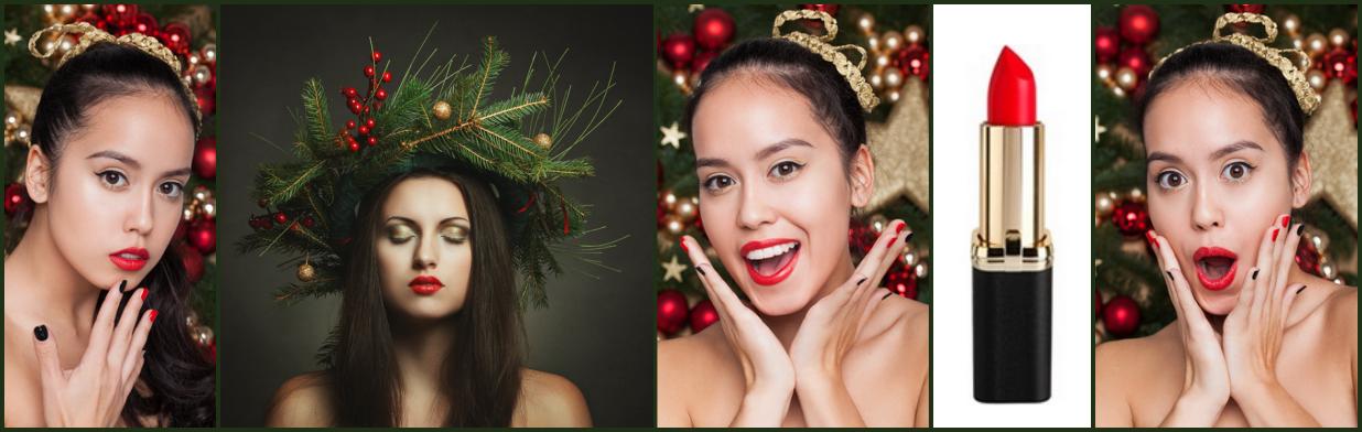 Najmodniejszy makijaż na Święta