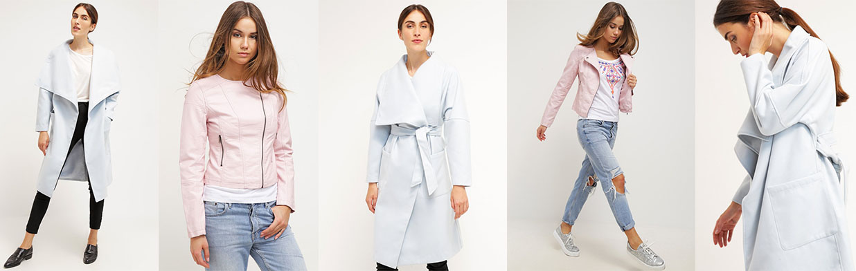 Pastelowe płaszcze i kurtki: trend 2016!