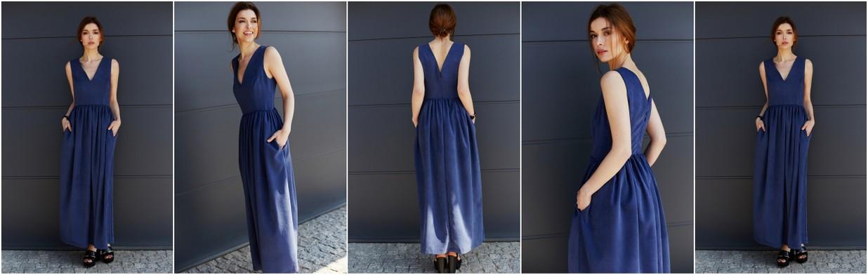 Jak nosić sukienki maxi?