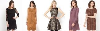 Sukienki w jesienne wzory