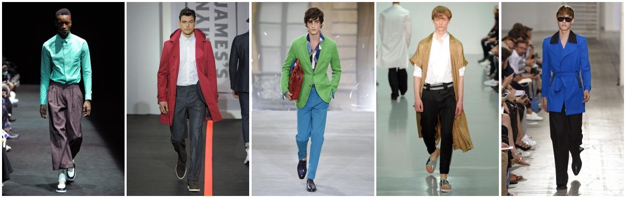 Trendy w modzie męskiej - wiosna 2016