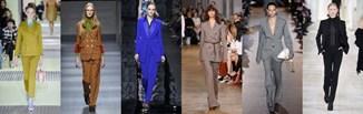 Wybór projektantów: damski garnitur