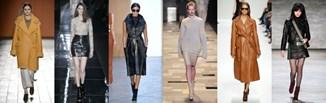 Wybór projektantów: skórzane ubrania