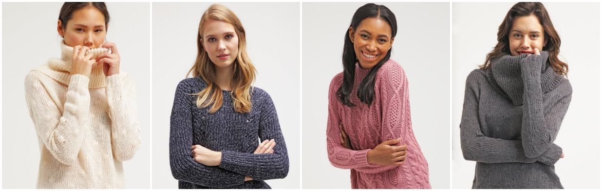 Wyprzedażowe szaleństwo - ciepłe swetry