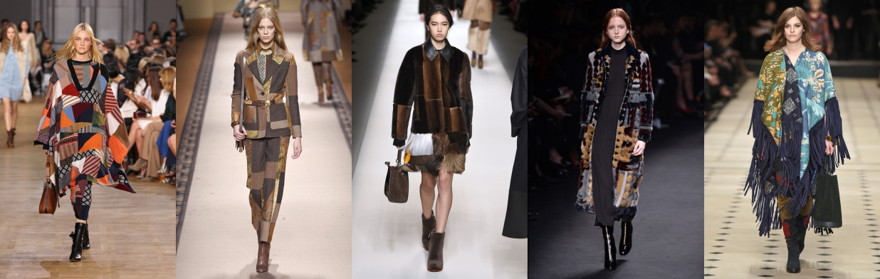Z czym nosić patchworkowe ubrania?