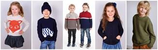 Zimowe swetry dla dzieci