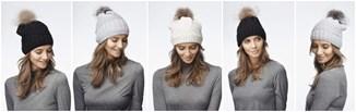 Zimowy must have: czapka z pomponem