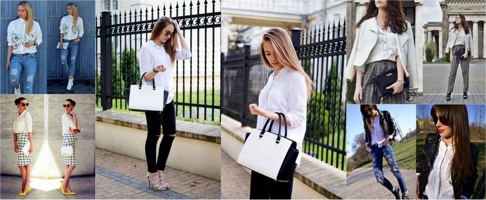 5 sposobów na białą koszulę Trendy w modzie w Domodi  7o4ti